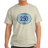250 Logged Dives Light T-Shirt