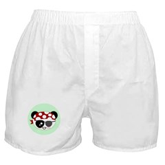 Pirate Panda Boxer Shorts