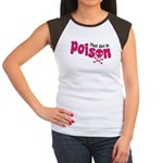 That Girl is Poison Women's Cap Sleeve T-Shirt