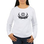 Fire Dept Tattoos Women's Long Sleeve T-Shirt