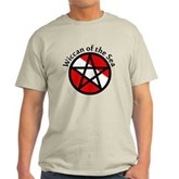 Wiccan of the Sea Light T-Shirt