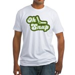 Oh Snap Fitted T-Shirt