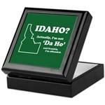 "Not ""Da Ho"" Keepsake Box"