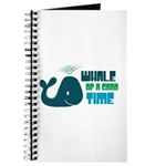 Whale of a Good Time Journal