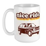 Nice Ride Large Mug