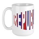 Republican Bulge Large Mug