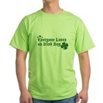 Everyone Loves an Irish Boy Green T-Shirt
