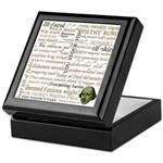 Shakespeare Insults T-shirts & Gifts Keepsake Box