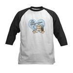 My Heart Belongs to Nonni BOY Kids Baseball Jersey