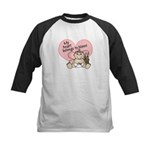 My Heart Belongs to Nonni GIR Kids Baseball Jersey