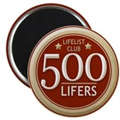 Lifelist Club - 500 Magnet