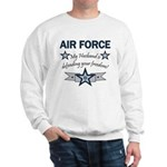 Husband Defending Freedom AF Sweatshirt