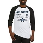 Air Force Mom defending Baseball Jersey