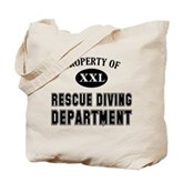 Rescue Diving Department Tote Bag