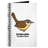 Birdorable Carolina Wren Journal
