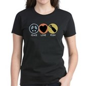  Peace Love Pish Women's Dark T-Shirt