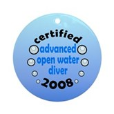 Certified AOW 2008 Ornament (Round)