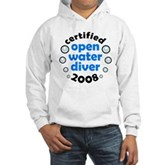 Open Water Diver 2008 Hooded Sweatshirt