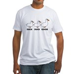 Duck Duck Goose Domestic Fitted T-Shirt