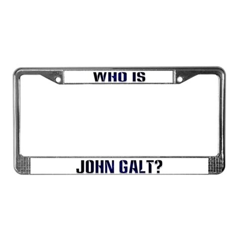 Pic My Jhngalt License Plate The Only Way To Go Galt