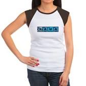 Obama Elements Women's Cap Sleeve T-Shirt