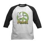 Birdorable Peace Dove Kids Baseball Jersey