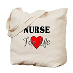 Nurse For Life Tote Bag