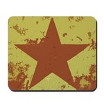 Rusty Star Mousepad