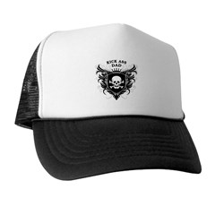 Kick Ass Dad Trucker Hat