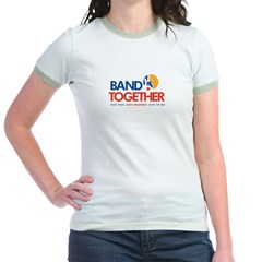 Band Together logo Jr. Ringer T-Shirt