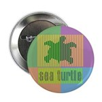 "Bar Code Turtle 2.25"" Button"