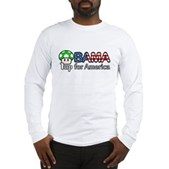 Obama 1up for America Long Sleeve T-Shirt