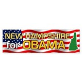 New Hampshire for Obama Bumper Sticker