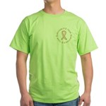 3 Year Breast Cancer Survivor Green T-Shirt