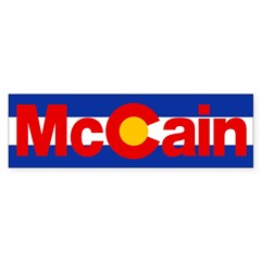 Colorado for McCain Sticker (Bumper)