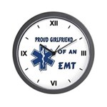 EMT Girlfriend Wall Clock