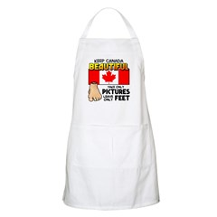 Canada Severed Foot Apron
