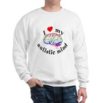 I Heart My Autistic Mind Sweatshirt