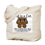 This is a Cat Tote Bag