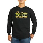 Autistic Activist v2 Long Sleeve Dark T-Shirt