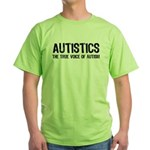 True Voice of Autism Green T-Shirt