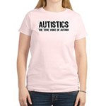 True Voice of Autism Women's Pink T-Shirt