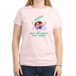 Aspies Spin the World Women's Light T-Shirt