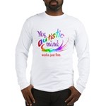 My Autistic Mind Long Sleeve T-Shirt