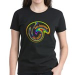 Cure Ignorance (Rainbow) Women's Dark T-Shirt
