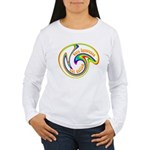 Cure Ignorance (Rainbow) Women's Long Sleeve T-Shi