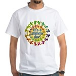 Stimmy Day White T-Shirt
