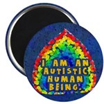 "I Am Human 2.25"" Magnet (100 pack)"