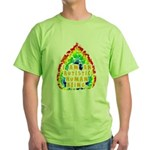 I Am Human Green T-Shirt