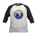 Autistic Planet Kids Baseball Jersey